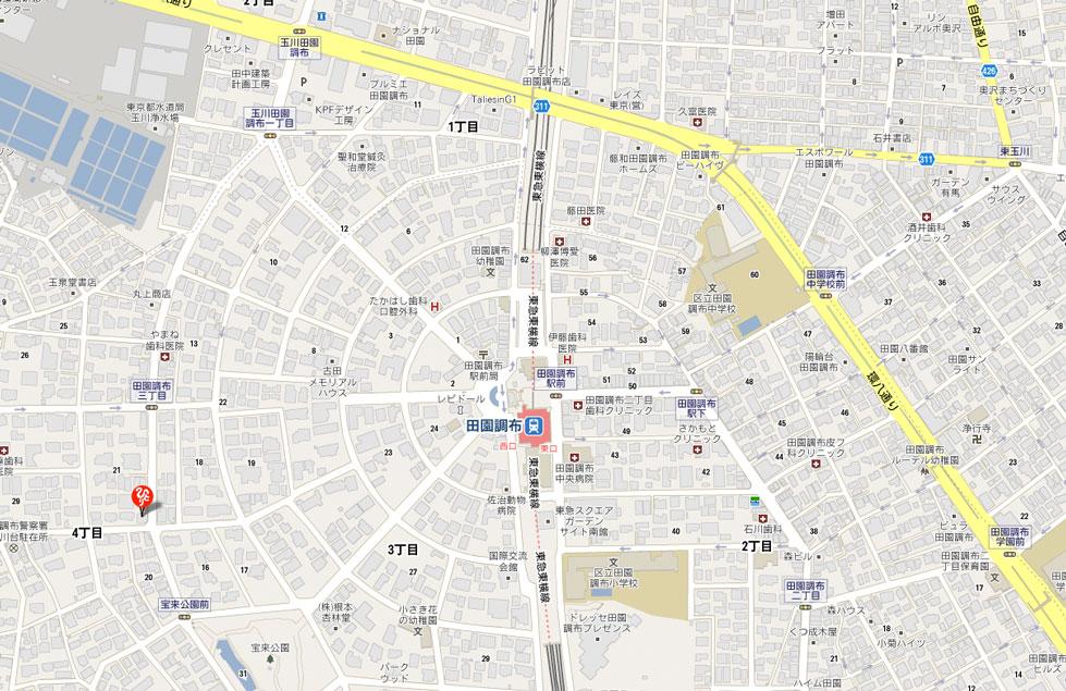 ものスゴいまるかん 地図 広域表示